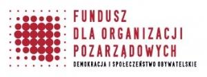 logo funduszu dla organizacji pozarządowych