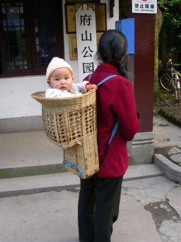 dziecko wnosidelku