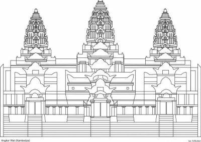 Ankgor Wat (Kambodża)