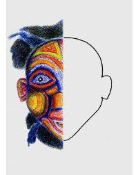 Maska Bamileke (Afryka)