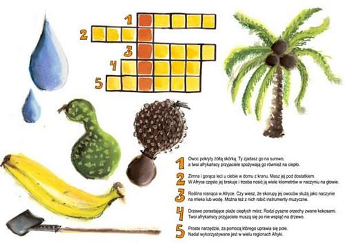 Afrykańskie warzywa i owoce
