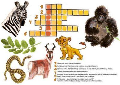 Afrykańskie zwierzęta