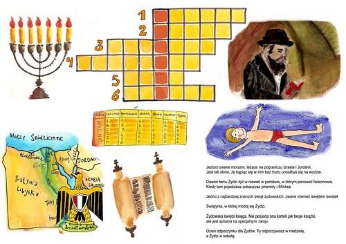 krzyżówka żydowskie tradycje