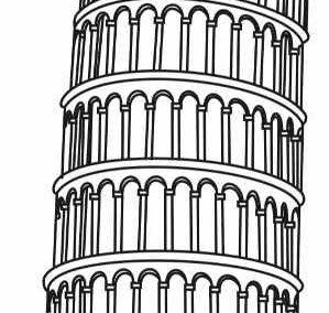 Krzywa Wieża wPizie (Włochy)
