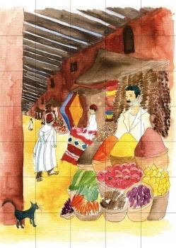 Targ w Maroku