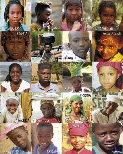 Mieszkańcy Afryki