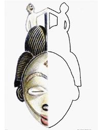 Maska Punu (Afryka)