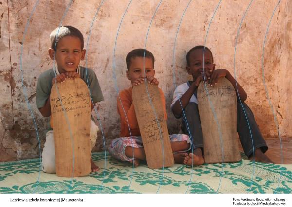 Uczniowie szkoły koranicznej (Mauretania)