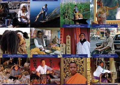 Zajęcia izawody mieszkańców Azji
