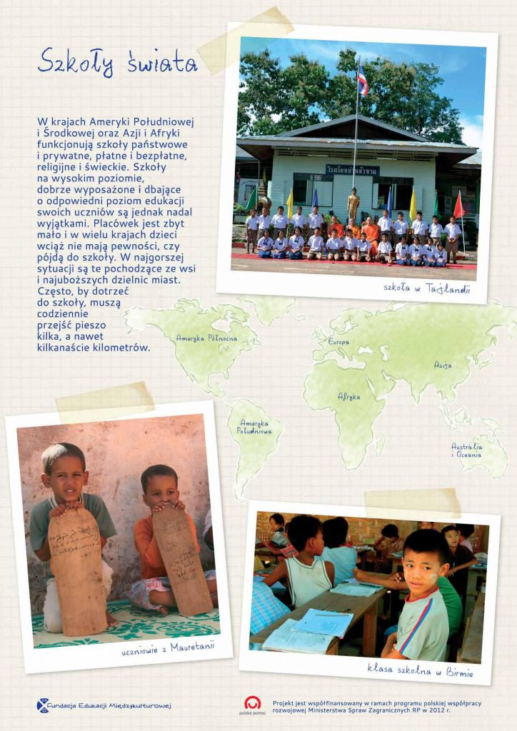 wystawa szkoły świata