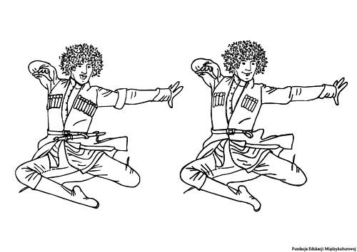 Tańczący Gruzin