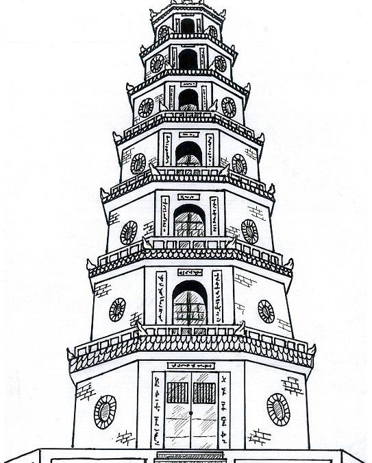 Wieża pagody Thien Mu (Wietnam)