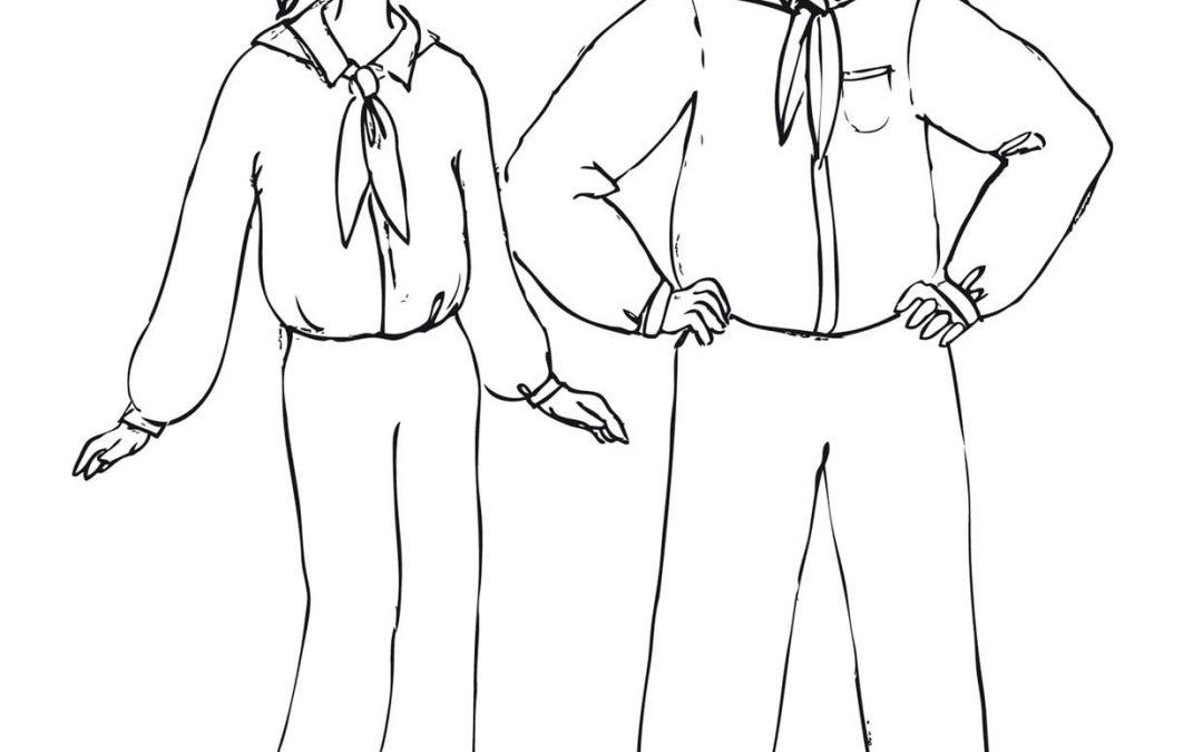 Uczniowie w mundurkach (Chiny)