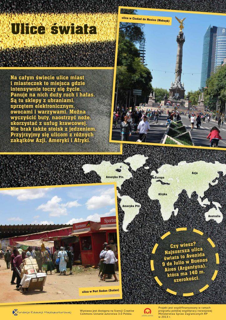 wystawa ulice świata