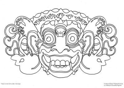 Maska Kumba – Kama (Bali)