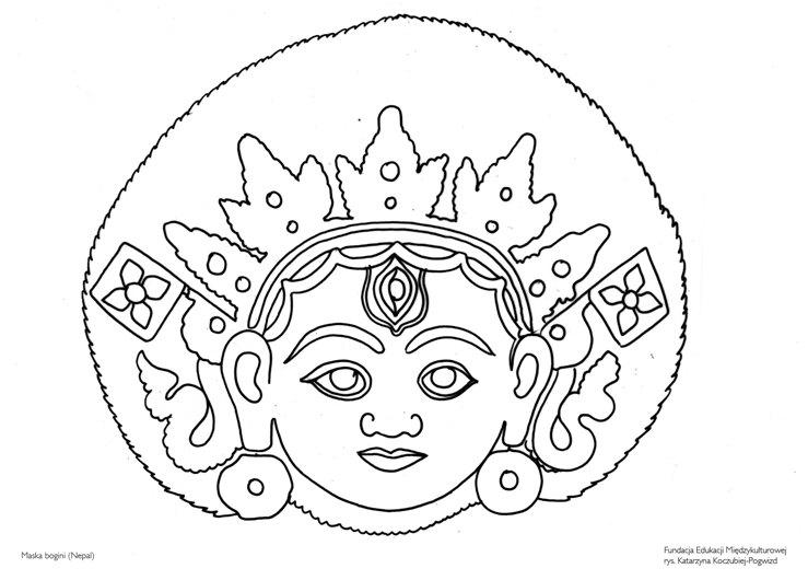 Maska bogini (Nepal)
