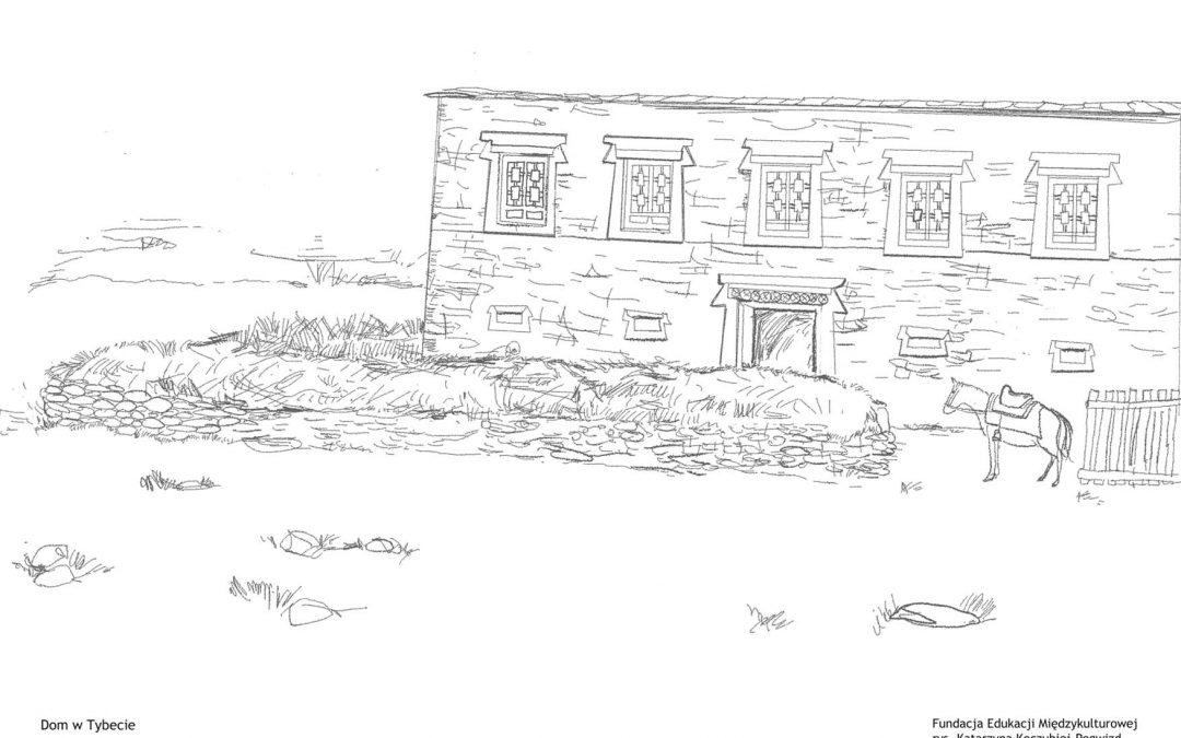 dom z kamienia (Tybet)