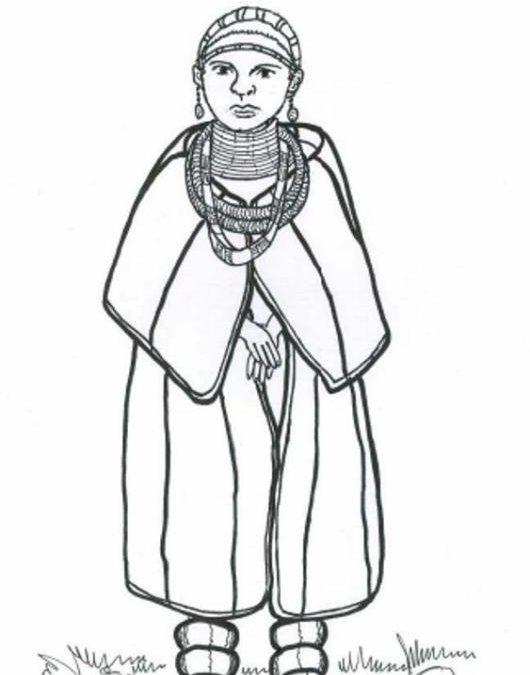 Kobieta z ludu Ndebele (RPA)