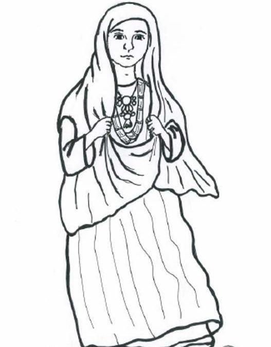 Kobieta z ludu Tuaregów (Sahara)