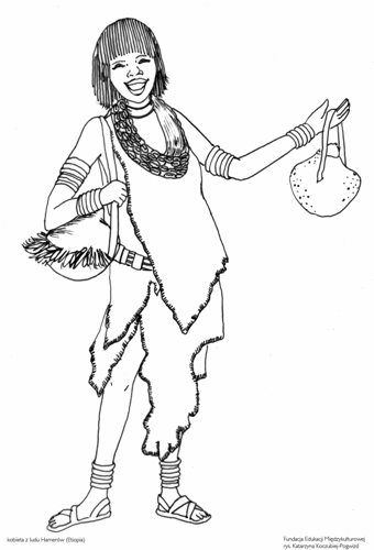 Kobieta zludu Hamerów (Etiopia)