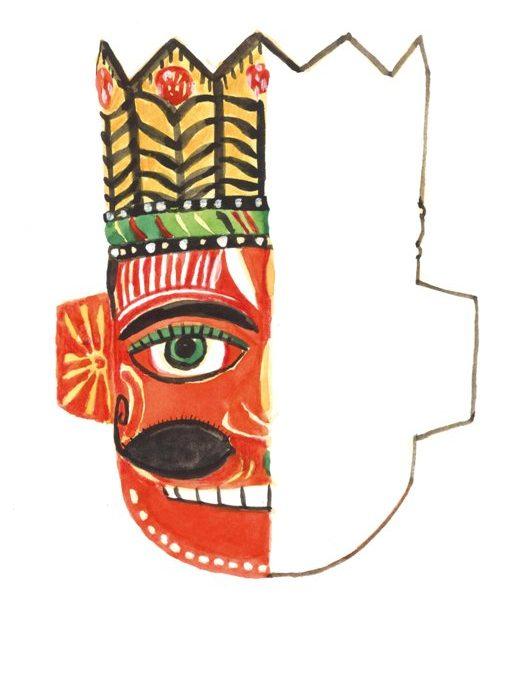 Maska króla (Indie)