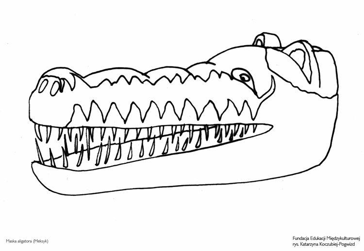 Maska aligatora (Meksyk)