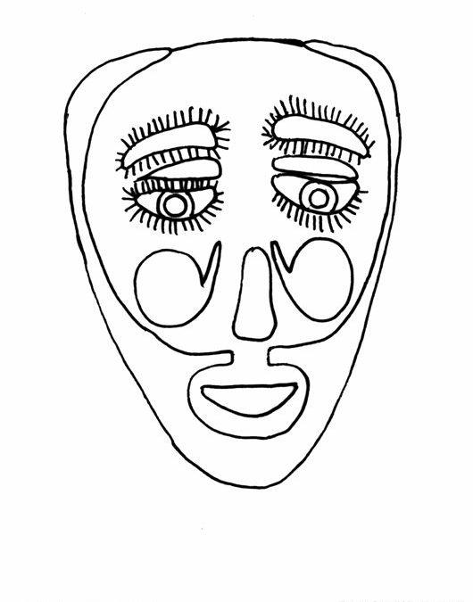 Maska z Tańca Maurów i Chrześcijan (Meksyk)