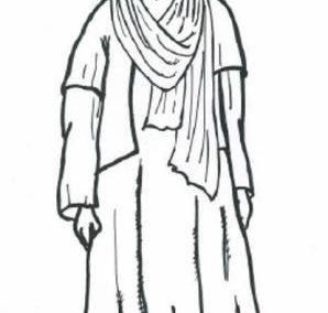 Mężczyżna zludu Tuaregów (Sahara)