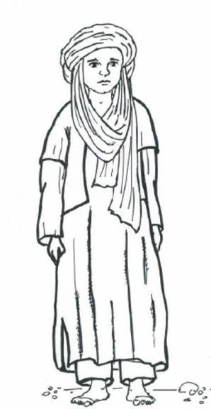 Mężczyżna z ludu Tuaregów (Sahara)