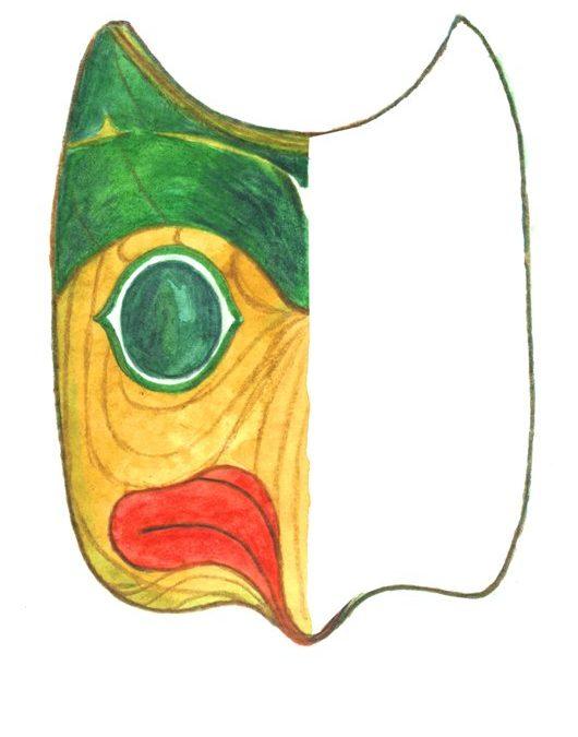 Maska ptaka (Alaska)