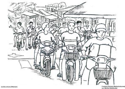 Scenka uliczna (Wietnam)