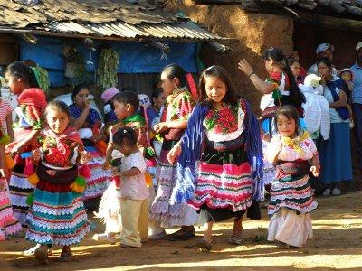 Meksyk – Strój Indianek Purepecha