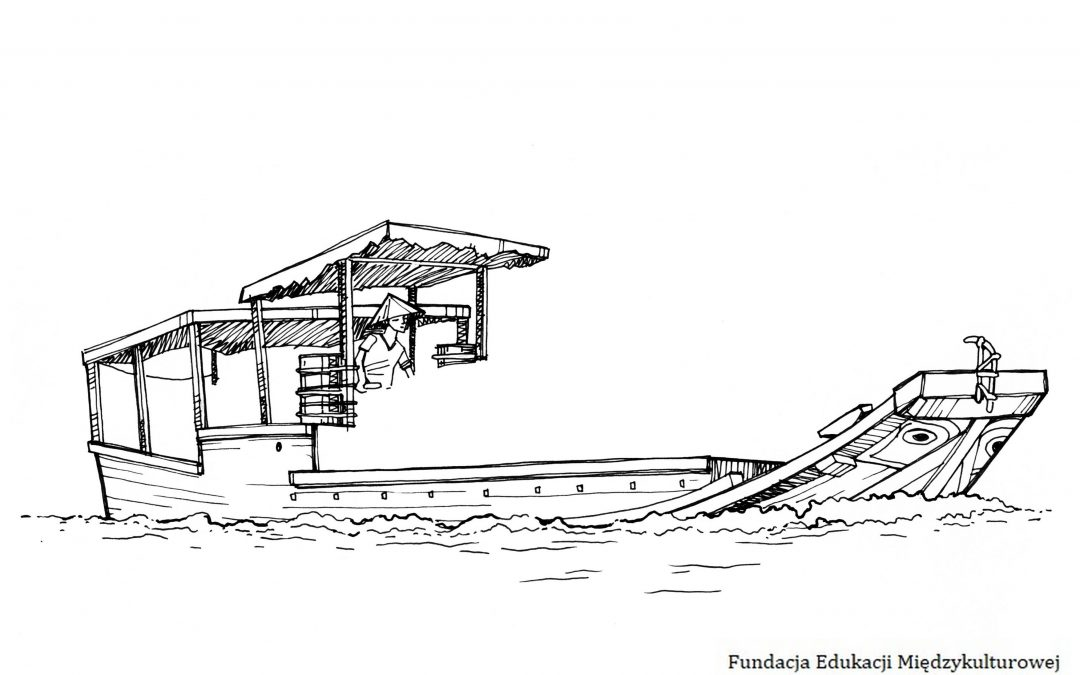 Mekong barka – dorysuj