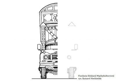Pakistańska ciężarówka – symetria